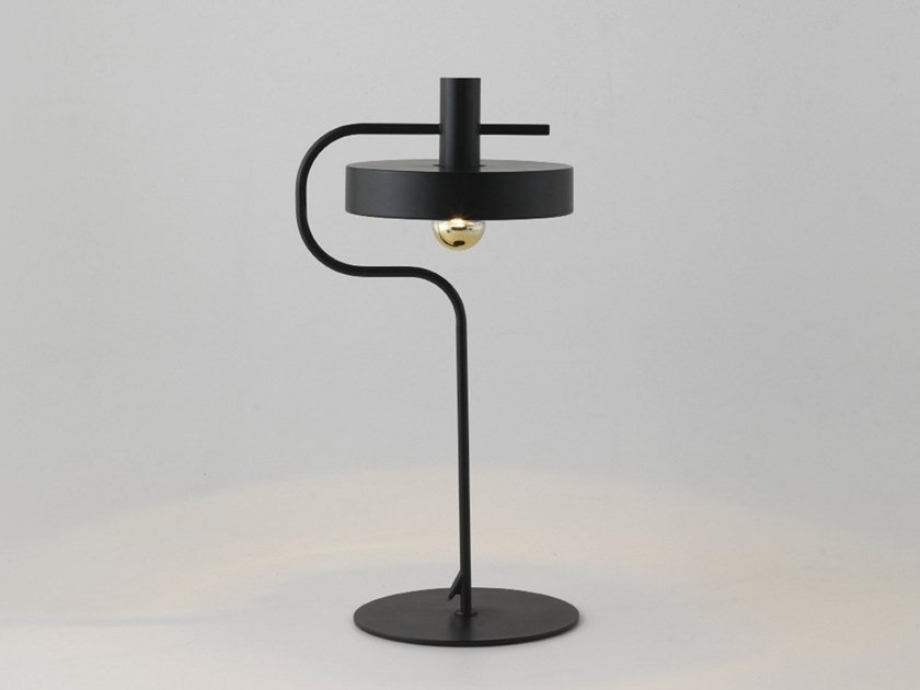 Metal table lamp with fixed arm ALOA | Metal table lamp by Aromas del Campo
