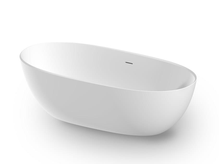 Vasca Da Bagno Zucchetti : Vasca da bagno centro stanza in solid surface aloe kos by zucchetti