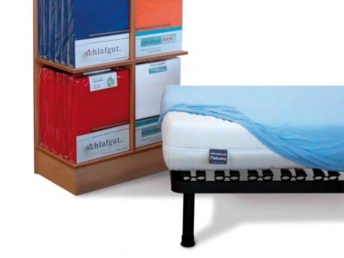 Jersey fabric mattress cover ALOE VERA by Manifattura Falomo