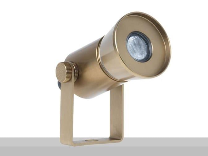 Proiettore per esterno orientabile con sistema RGB ALOHA RGB by Flexalighting