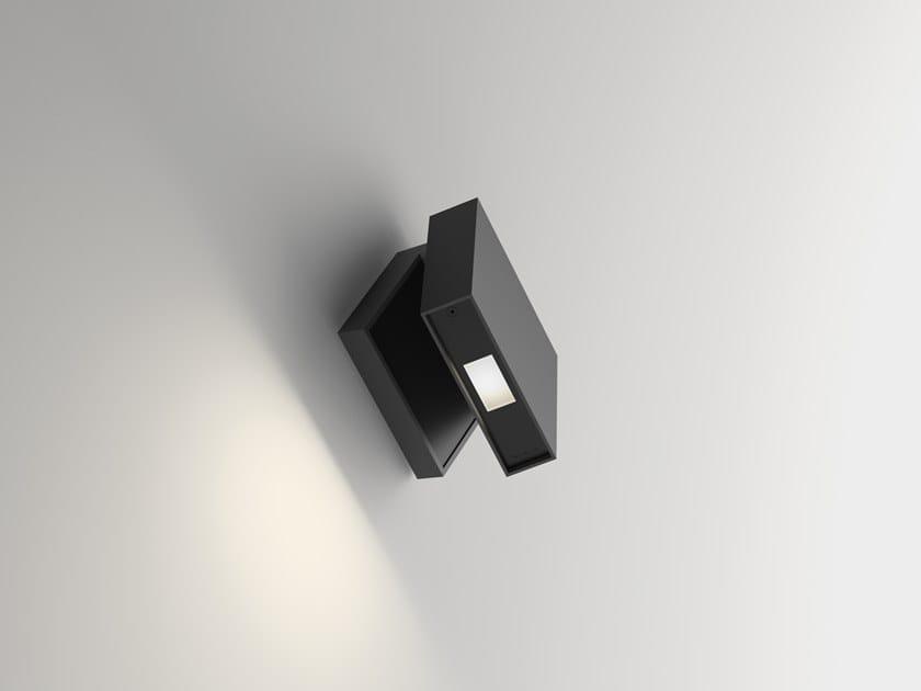 Lampada da parete a LED orientabile in alluminio ALPHA 7942 by Vibia