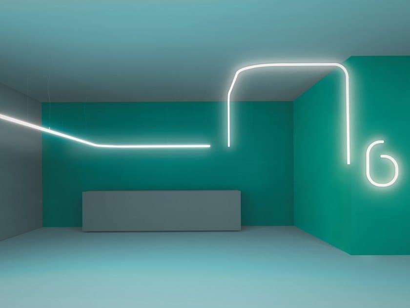 Diretta Artemide Lampada A Sospensione Led System Policarbonato In Light Luce Alphabet Of IH29EDW