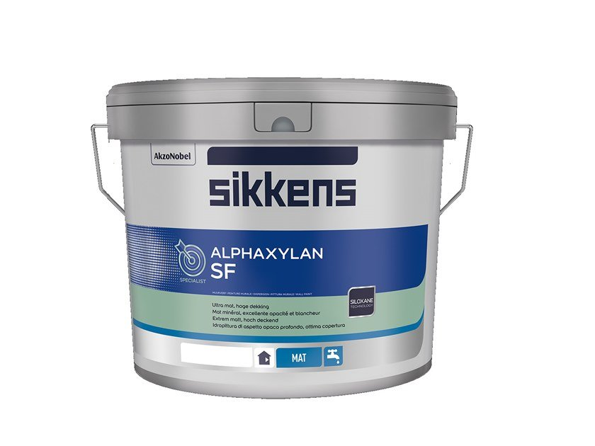 Pittura Lavabile Per Interni Sikkens.Pittura Silossanica Lavabile Alphaxylan Sf By Sikkens