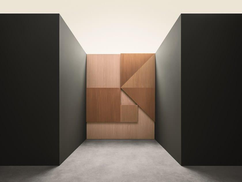 Rivestimento in legno per interni ALPI XILO 2.0 CHERRY by ALPI