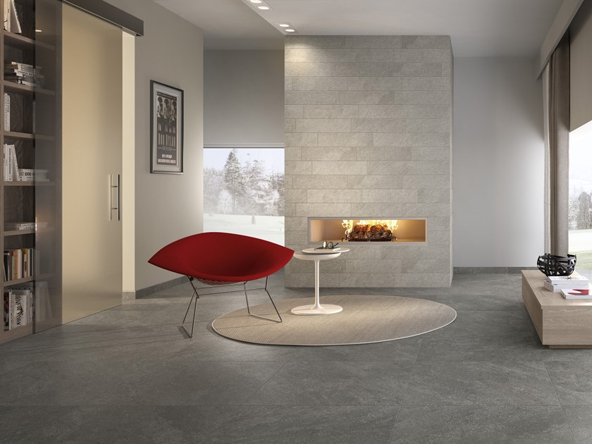 Porcelain stoneware wall/floor tiles with stone effect ALTA by Villeroy & Boch Fliesen