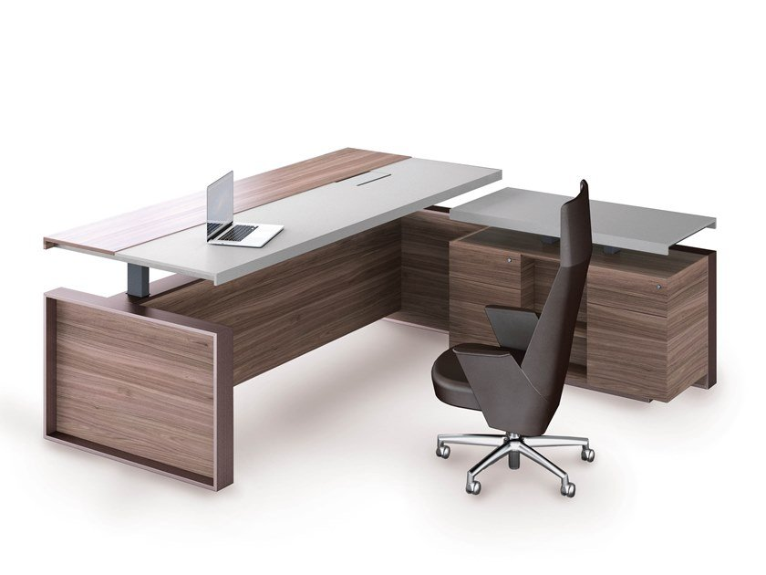 Estel Group Altagamma L Shaped Office Desk