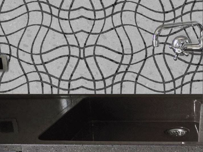 Lava stone wall tiles / flooring ALTAMAREA by Sgarlata