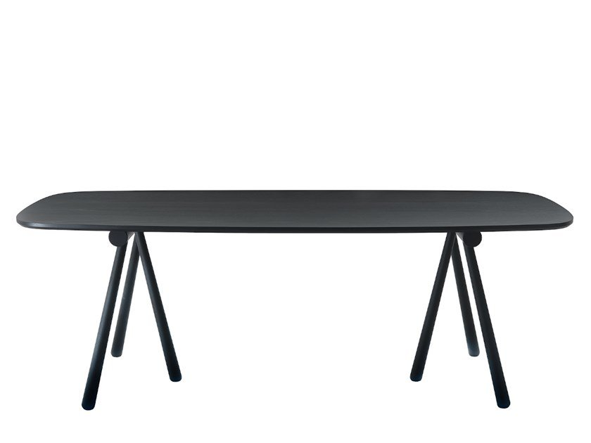 Rectangular wooden dining table ALTAY | Dining table by COEDITION