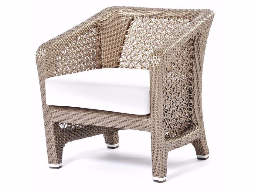 Synthetic fibre armchair ALTEA | Armchair by Varaschin
