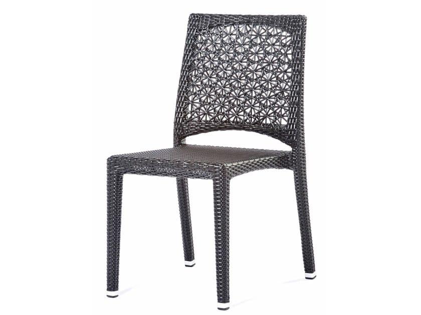 Synthetic fibre chair ALTEA | Chair by Varaschin