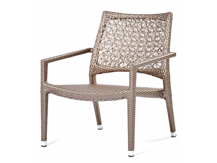 Synthetic fibre easy chair ALTEA | Easy chair by Varaschin
