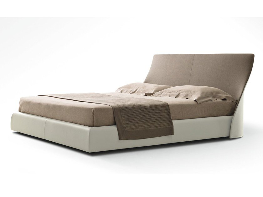 Bed double bed with removable cover ALTEA by GIORGETTI