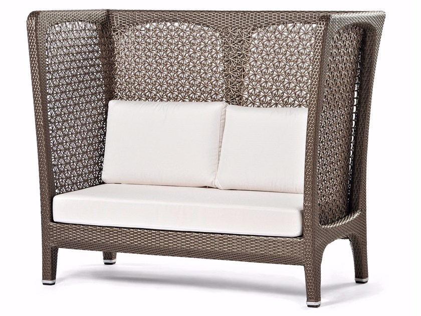 High-back synthetic fibre sofa ALTEA | High-back sofa by Varaschin