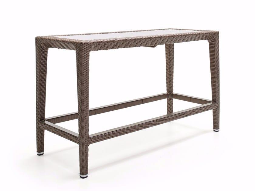 Rectangular high table ALTEA | High table by Varaschin