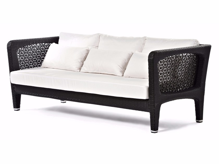 Synthetic fibre garden sofa ALTEA | Sofa by Varaschin