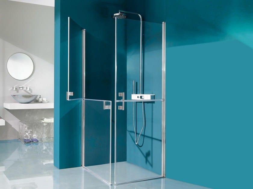Glass shower cabin ALTER | Shower cabin by Samo