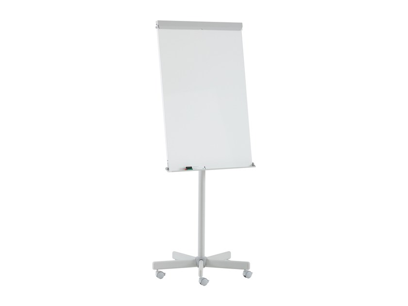 Lacquered steel office whiteboard with casters ALTO | Office whiteboard by ARCHYI. by Bi-silque
