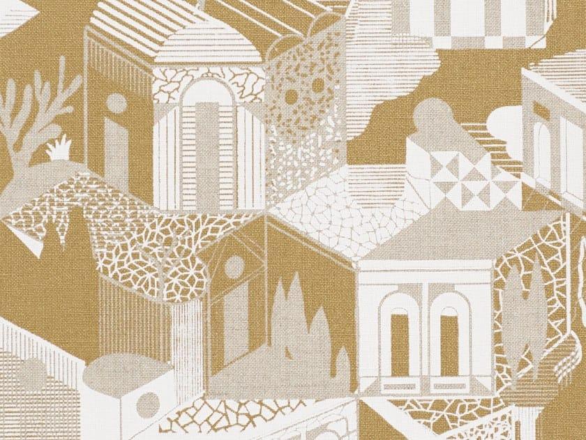 Carta da parati in lino con paesaggi ALTRONDE by Dedar
