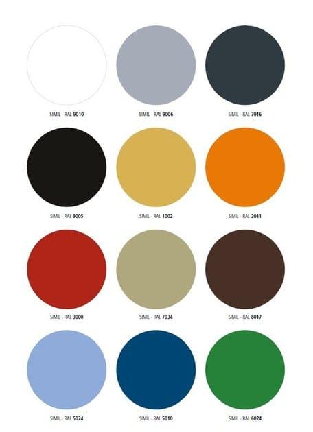 colori alluminio smooth