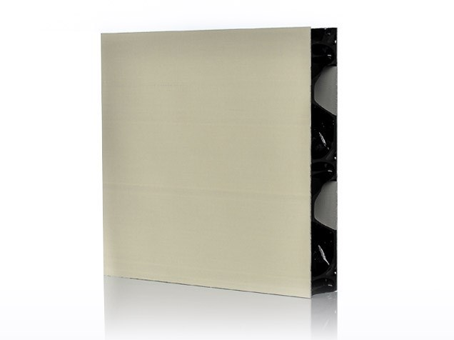 Composite material prefabricated wall panel ALUBEN™ by Bencore®