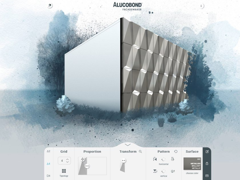 Web Application ALUCOBOND® Facademaker by 3A Composites