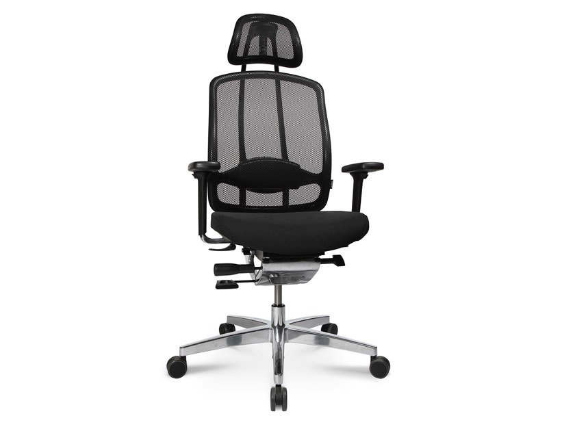 Swivel executive chair with 5-spoke base ALUMEDIC 10 by WAGNER