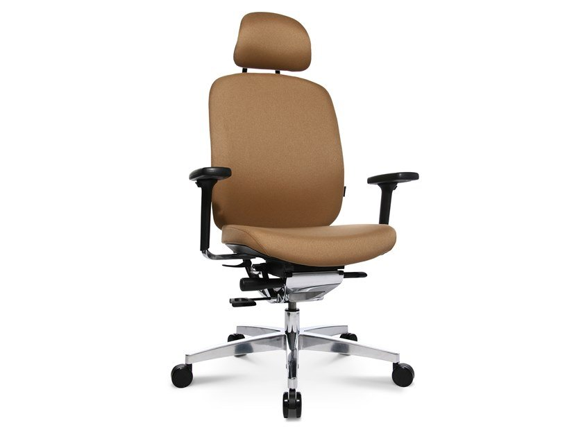 Swivel executive chair with 5-spoke base ALUMEDIC 20 by WAGNER