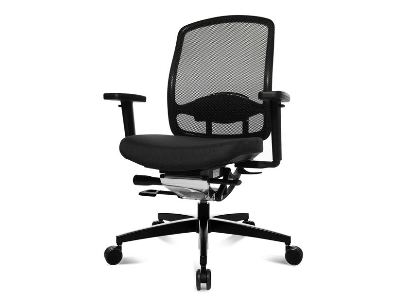 Task chair with 5-Spoke base ALUMEDIC 5 by WAGNER