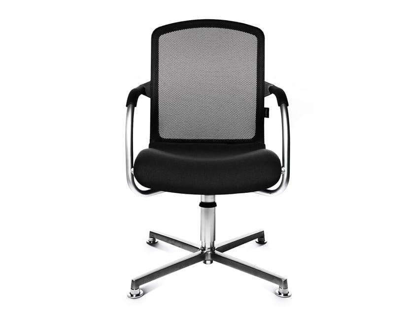 Swivel chair with 4-spoke base ALUMEDIC 50 3D by WAGNER