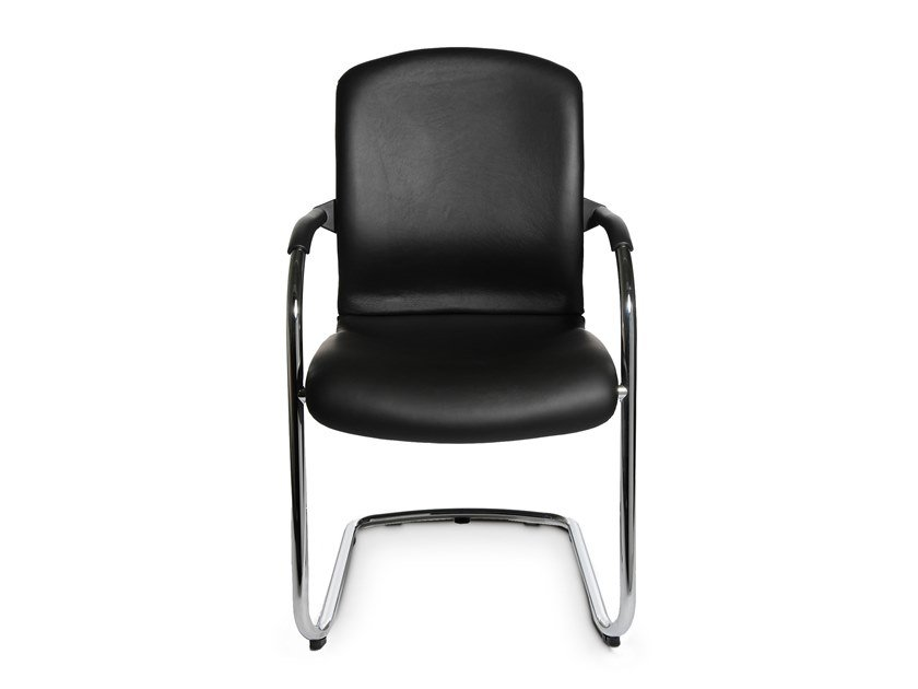 Cantilever chair with armrests ALUMEDIC 60 by WAGNER