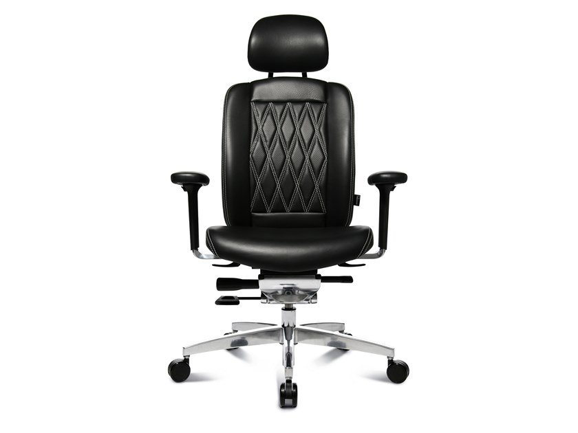 Swivel executive chair with 5-spoke base ALUMEDIC LIMITED S COMFORT by WAGNER