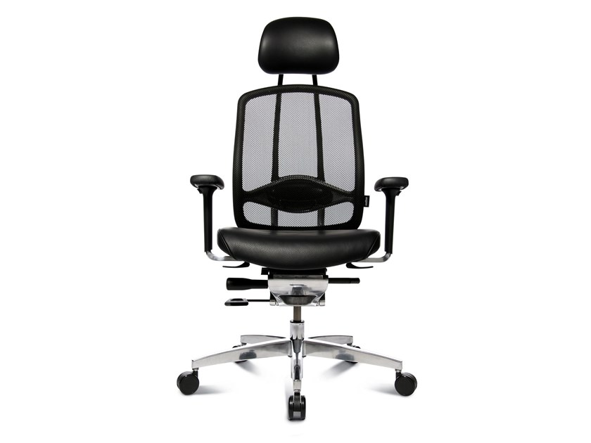 Swivel executive chair with 5-spoke base ALUMEDIC LIMITED by WAGNER