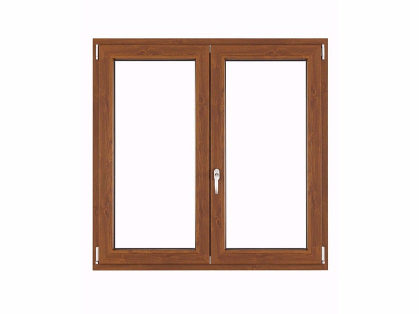 PVC top-hung window ALUTEK CLIMA by FOSSATI PVC