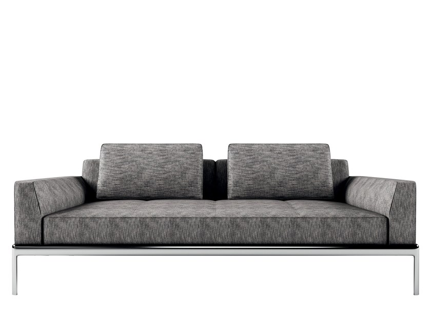 Fabric sofa ALUZEN | Sofa by Alias