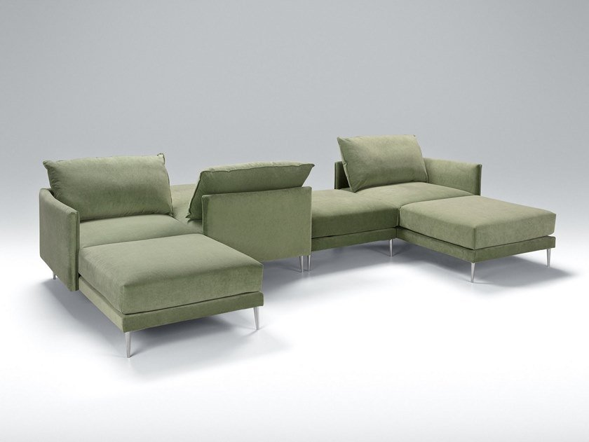 Sectional fabric sofa ALVA   Sectional sofa by Sits
