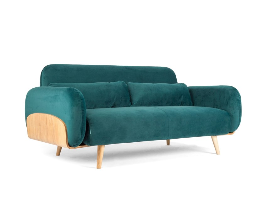 3 seater fabric sofa ALVEO by meeloa