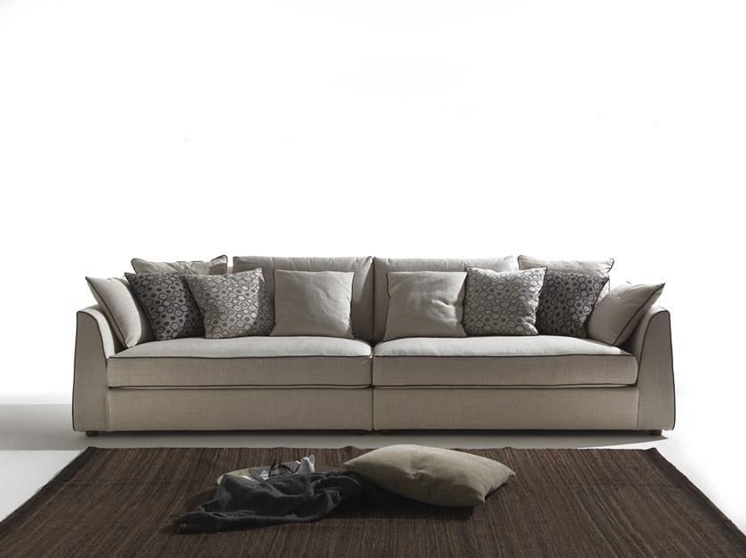 4 seater fabric sofa ALVIN by Flexstyle