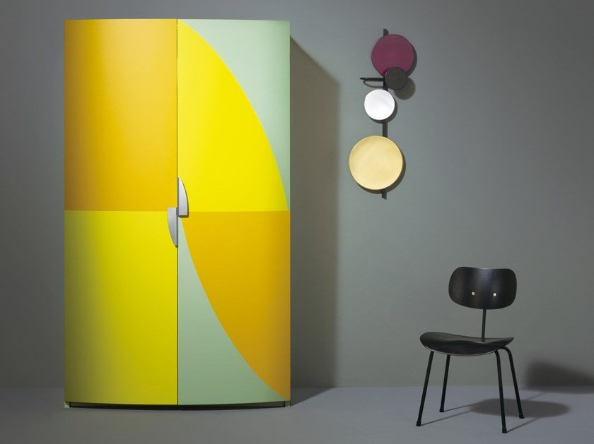 Design Alessandro Mendini.Hideaway Lacquered Mini Kitchen Am 01 By Sanwa Company