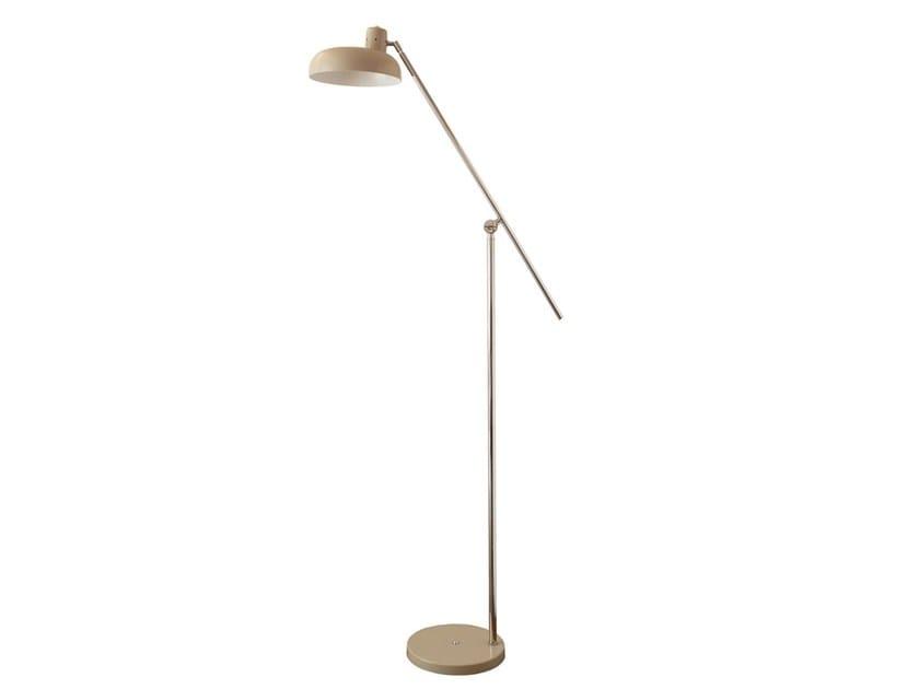 Adjustable metal floor lamp AMADO | Floor lamp by Branco sobre Branco
