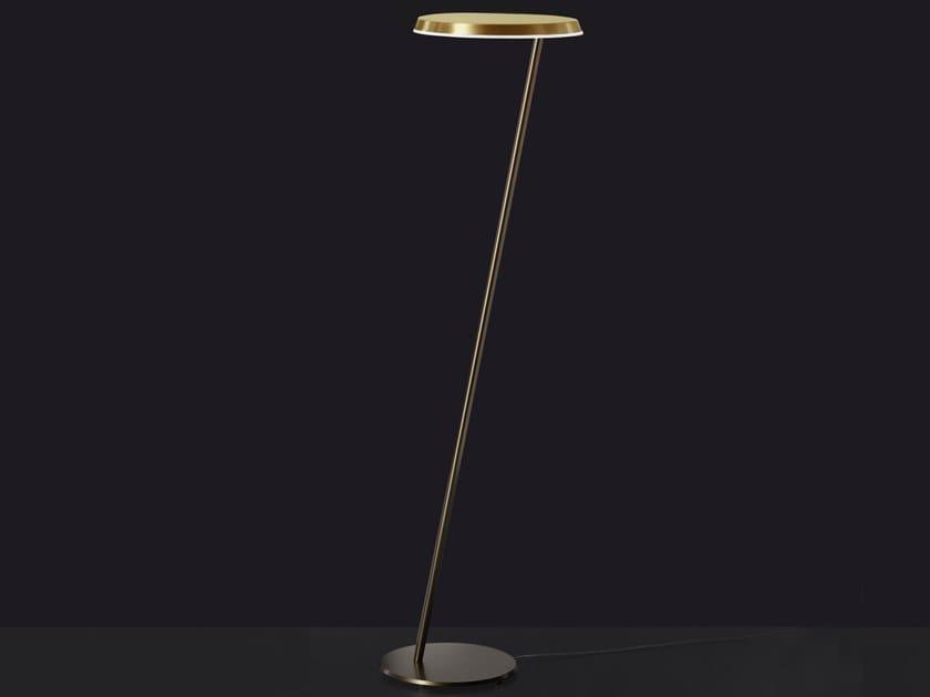 LED metal floor lamp AMANITA | Floor lamp by Oluce