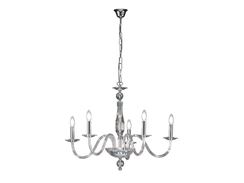 Crystal chandelier AMARAL by Rossini Illuminazione