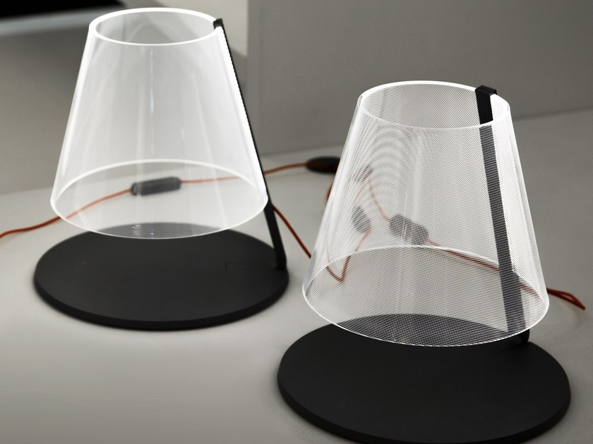 LED methacrylate table lamp AMARCORD by Martinelli Luce