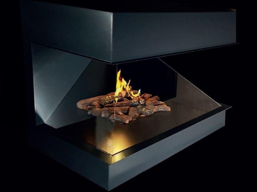 Caminetto con tecnologia olografica AMBIENT FIRE by RÜEGG