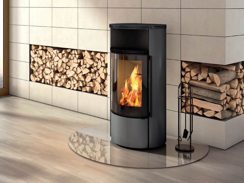 Wood-burning stove AMBIENTE A1 by SPARTHERM