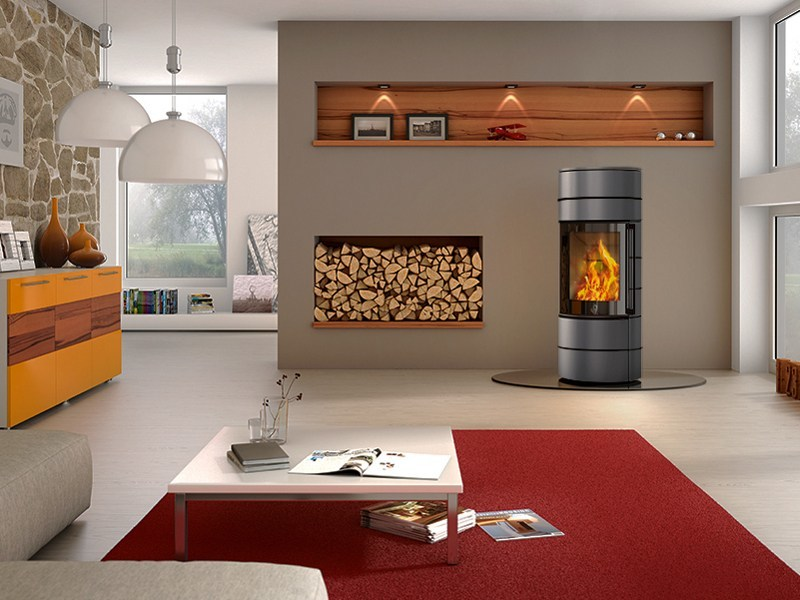 Wood Burning Stove Ambiente A3 By Spartherm
