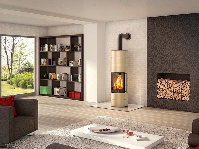 Wood-burning stove AMBIENTE A4 by SPARTHERM