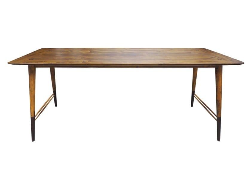 Rectangular wooden table AMBU | Rectangular table by ALANKARAM