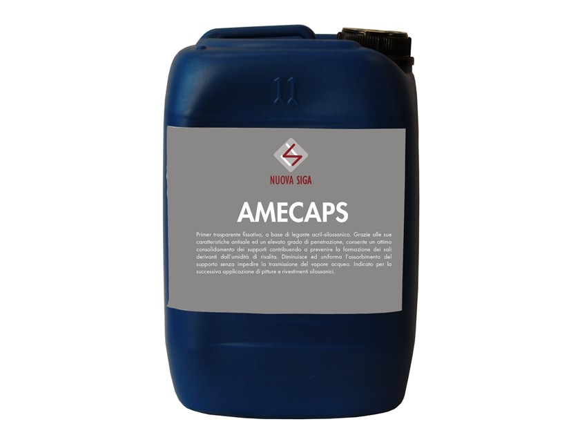 Asbestos encapsulation treatment and product AMECAPS by NUOVA SIGA