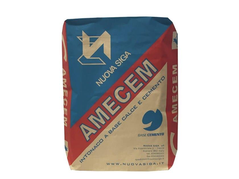 Cement plaster AMECEM by Nuova Siga