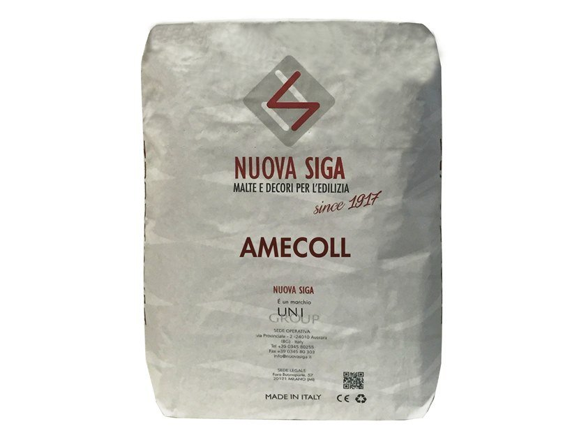 Scagliola gypsum, setting gypsum AMECOLL by Nuova Siga